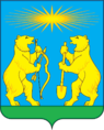 Coat of Arms of Severo-Yeniseysky rayon (2011).png
