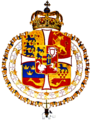 Coat of arms of King Frederick IV of Denmark and Norway.png