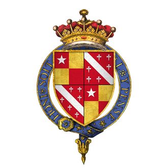 John de Vere, 13th Earl of Oxford - Quartered arms of John de Vere, 13th Earl of Oxford, KG
