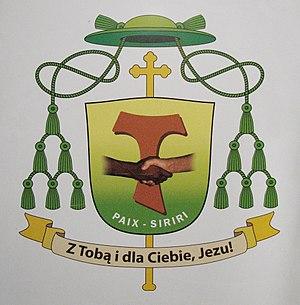 Tadeusz Kusy - Image: Coat of arms of Tadeusz Kusy OFM