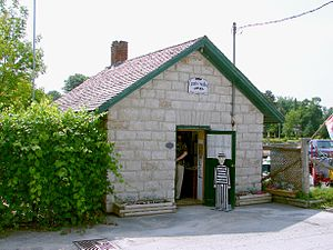 Coboconk - Coboconk's jail now houses a gift shop