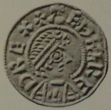 Coin of Æthelred I, King of Wessex obverse