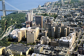 Columbia University College of Physicians and Surgeons - Aerial view of the Columbia University Medical Center
