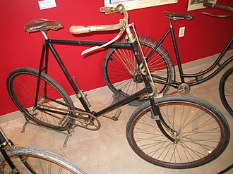 Pope Manufacturing Company - Columbia Model 40 Mens Safety Bicycle, 1895