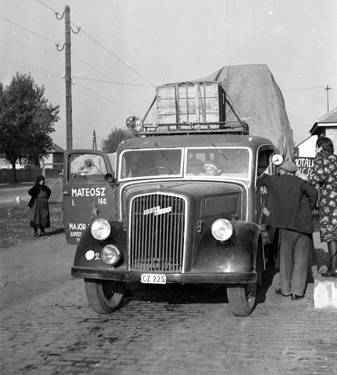 Opel Blitz in Hungary, 1941