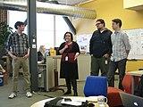 Community Engagement Team - Wikimedia - December 2013 - Photo 01.jpg