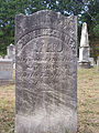 Conner (Cornelius), Bethany Cemetery, 2015-10-09, 02.jpg