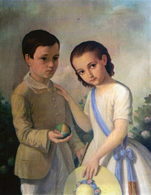 Haralamb Lecca - Image: Constantin Lecca Copiii artistului