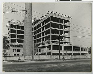 Liebenberg and Kaplan - Construction of Mount Sinai Hospital
