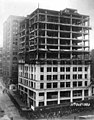 Construction of the William Rust building showing crowd of people standing outside building, Tacoma, October 11, 1920 (WASTATE 3391).jpeg