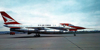 Convair B-58 Hustler - Convair YB-58A-1-CF Hustler, (AF Ser. No. 55-0661), the second aircraft built