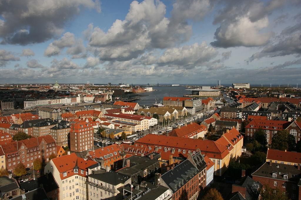 Vue depuis l'église Saint Sauveur de Copenhague - Photo de Marco Zanferrari