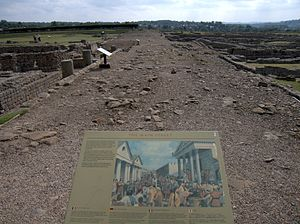 Corbridge - The Stanegate, Corbridge Roman Site