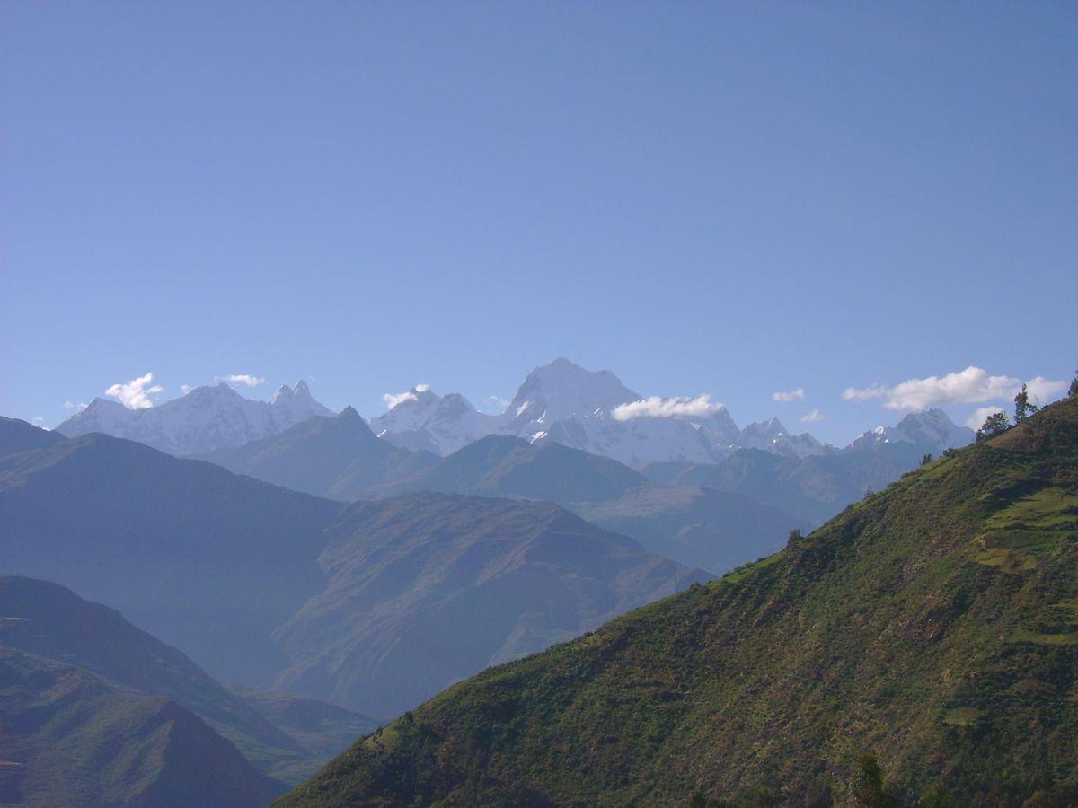 1 Point Safety >> Cordillera Huayhuash - Wikipedia