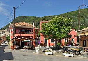 Doukades - Doukades: the village centre