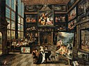 Cornelis de Baellieur - Interior of a Collector's Gallery of Paintings and Objets d'Art - WGA01146.jpg