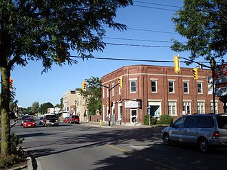 Strathroy-Caradoc - Corner of Caradoc St. N and Front St. W in Strathroy