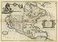Coronelli America Settentrionale Colle Nuove Scoperti fin all' Anno 1688 UTA.jpg