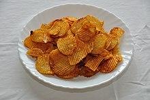 Chips Fettgehalt