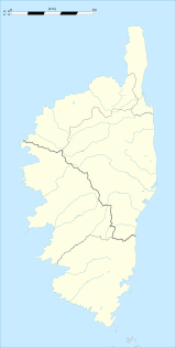 Ampriani is located in Corsica