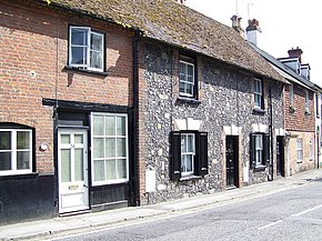 Cottages, Amesbury - geograph.org.uk - 863744.jpg