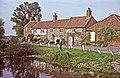 Cottages at Burnham Overy Staithe, Norfolk - geograph.org.uk - 71097.jpg