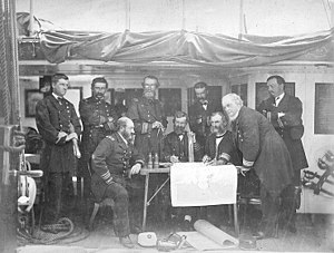 Council of War USS Colorado June 1871