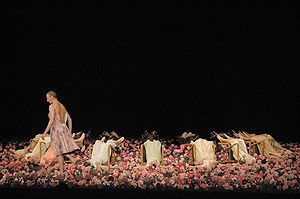 Cravos, by choreographer Pina Bausch.