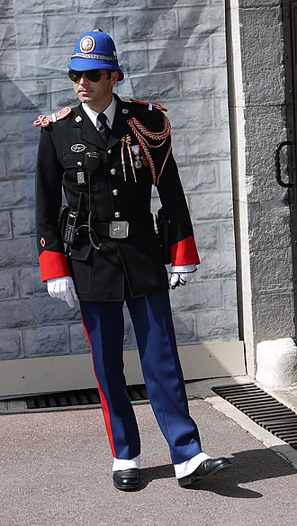 Law enforcement in Monaco - Image: Crazy uniform (5625078078) (cropped)