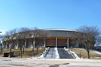 University of Michigan basketball scandal - Crisler Arena is the home of Michigan Wolverines men's basketball.
