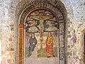 Cristo crocifisso tra i dolenti S. Giovanni Battista, S. Maria Maddalena e S. Caterina da Siena (Scuola umbra di Giannicola di Paolo, Terni prima metà del XVI secolo).jpg