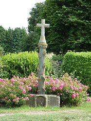 The cross in Le Haut-Corlay