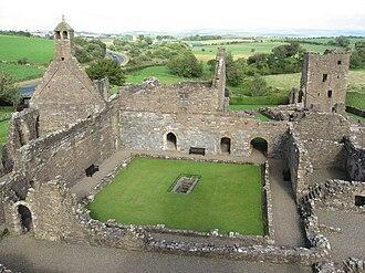 Crossraguel Abbey - Crossraguel Abbey Courtyard ruins