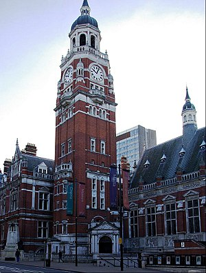 Croydon Clocktower - Croydon Clocktower (the building to the right is the Braithwaite Hall)