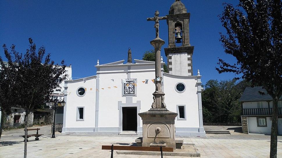 Igrexa parroquial de Santa María de As Pontes
