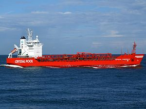 Crystal Emerald IMO 9016923 approaching Port of Rotterdam, Holland.jpg