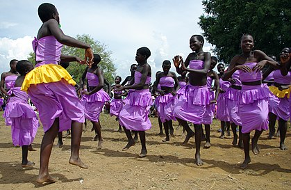 Cultural celebrations resumed with the end of the LRA conflict in Northern Uganda (7269658432).jpg
