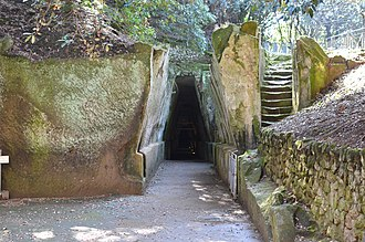 Cumae - Entrance to the Cave of the Sibyl
