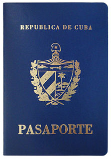 Visa requirements for Cuban citizens