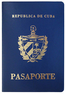 Current cover Cuban passport.JPG