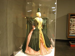 "Gone with the Wind (novel) - 2009 The ""Curtain Dress"" from The Carol Burnett Show on display at the Smithsonian Institution"