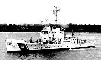 USCGC Cuyahoga (WIX-157) - Image: Cuyahoga 1974