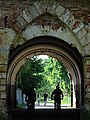 Cyclists in Gate of Outer Ring of Defences - Brest Fortress - Brest - Belarus (26813613994).jpg