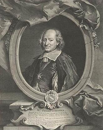 Pierre d'Hozier - Portrait of d'Hosier