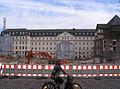 Düsseldorf, ehemaliges Landgericht, Rückseite während des Umbaus, 2012 (1).jpg