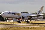 D-AALD AeroLogic Boeing 777-FZN coming in from Dehli (DEL VIDP) @ Frankfurt - Rhein-Main International (FRA EDDF) 03.07.2016 (33149249750).jpg