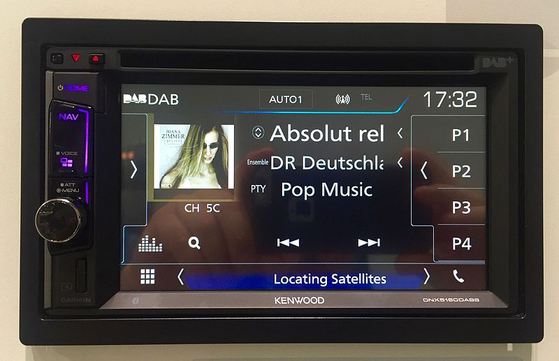 File:DAB 2 din car radio.jpg