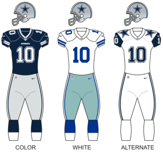 Dallas Cowboys National Football League franchise in Arlington, Texas