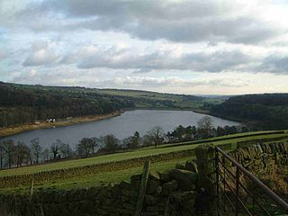 Damflask Reservoir Reservoir in South Yorkshire, England