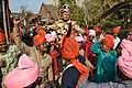 Dancing Barajatri With Bridegroom - Odia Hindu Wedding Ceremony - Kamakhyanagar - Dhenkanal 2018-01-24 7866.JPG